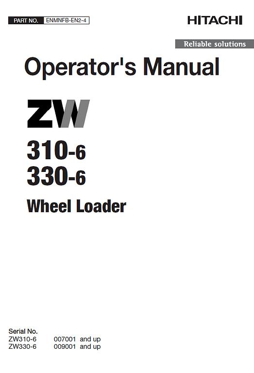Hitachi ZW330-6