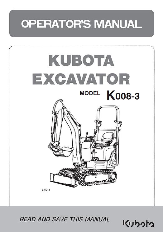 Kubota KX008-3