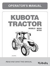 Kubota M6060, M7060 CAB
