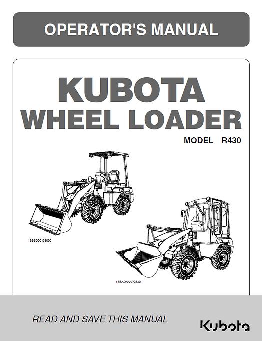 Kubota R430