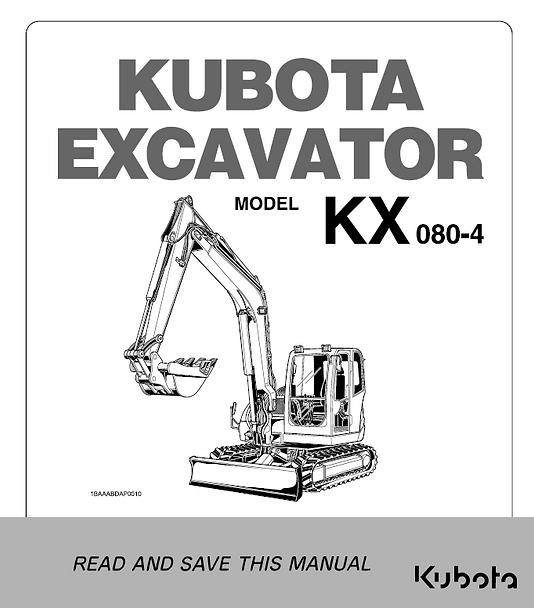 Kubota KX080-4