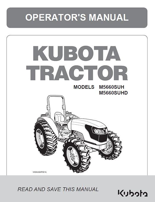 Kubota M5660SUH, M5660SUHD
