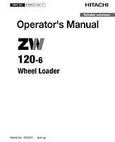 Hitachi ZW120-6