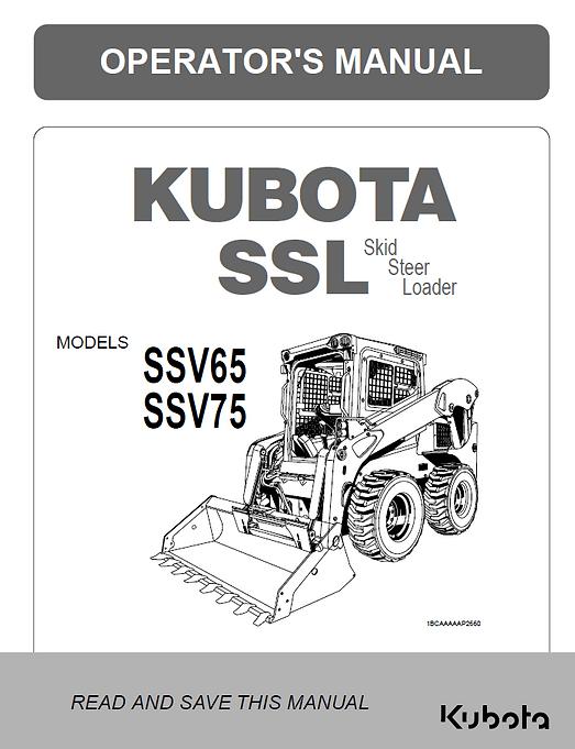 Kubota SSV65, SSV75