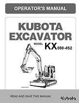 Kubota KX080-4S2