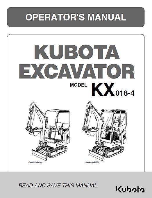 Kubota KX018-4