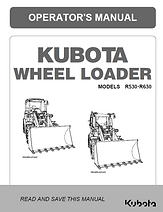 Kubota R530, R630