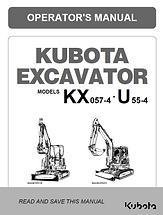 Kubota KX057-4, U55-4