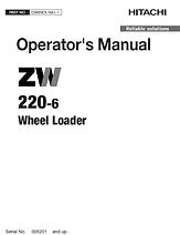 Hitachi ZW220-6