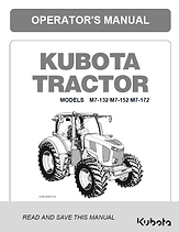 Kubota M7-132, M7-152, M7-172