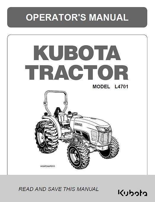Kubota L4701