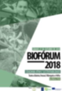 Cartaz BioFórum 2018