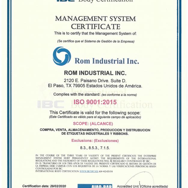 ROM Industrial