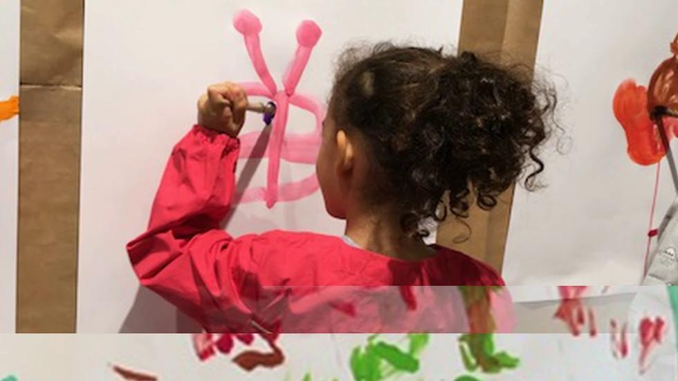 Atelier et séances de peinture à l'atelier de la maison de Pinceaux