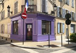 local en violet