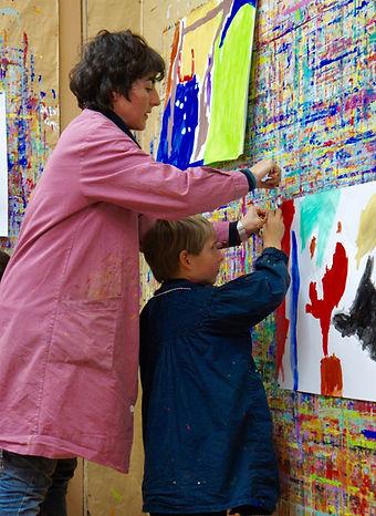 cours de peinture, maison des pinceaux , atelier libre , cours de peinture enfant , cours de adulte peinture , fondatrice de maison des pinceaux , Maryam SALAR , Maryam VASTRA