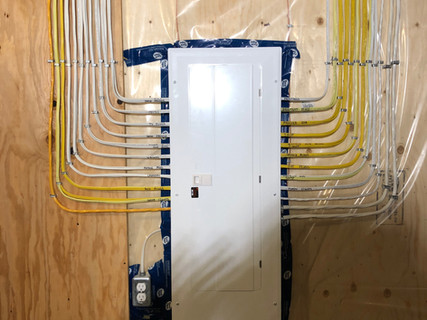 200 Amp Panel Installation