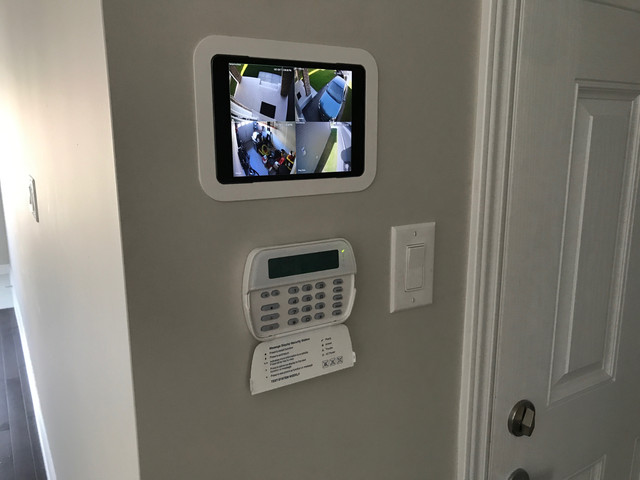 In Wall iPad - Home automation