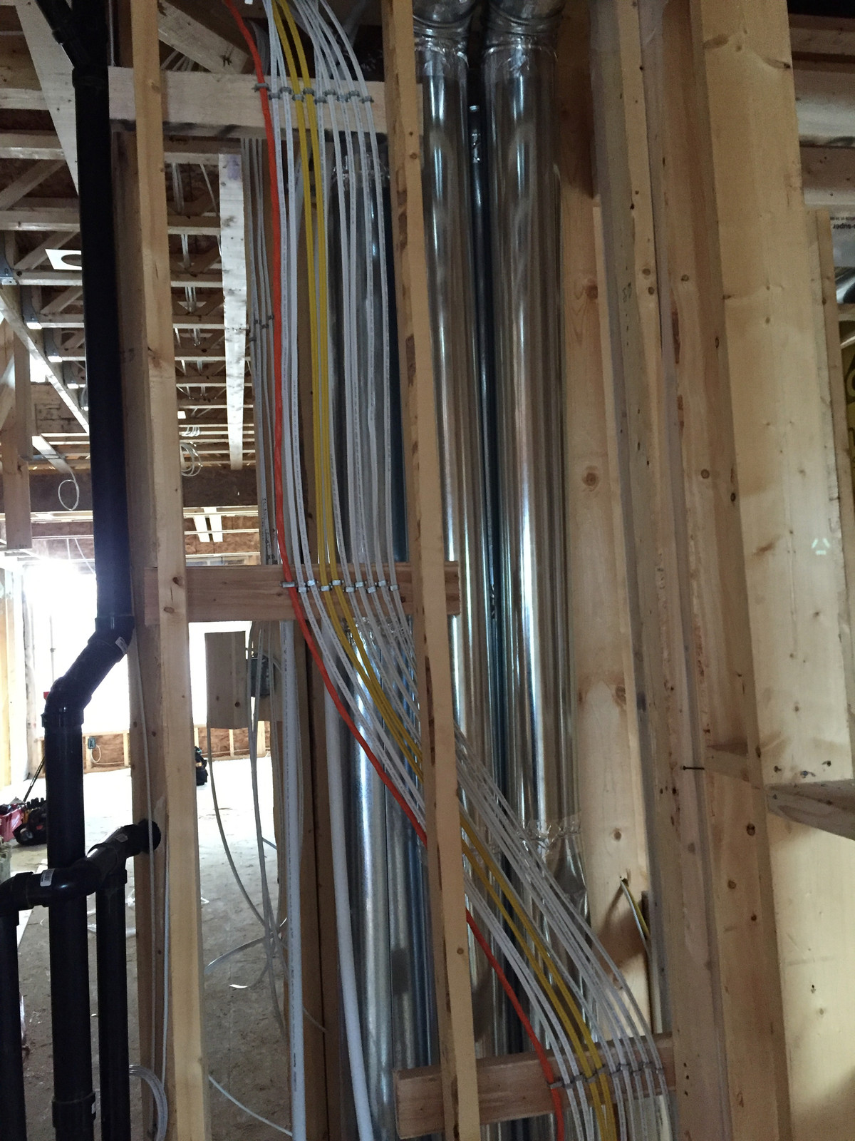 Custom Home Rough In Wiring