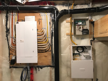 Electrical, Communications And Alarm Panels