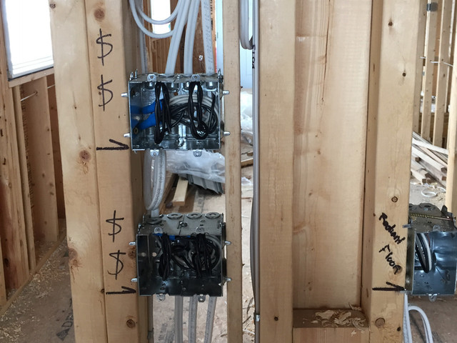 Custom Home Rough-In