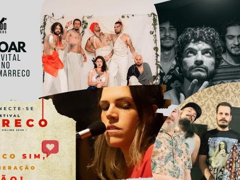 #TáNoAr: Fernanda Vital, Mundhumano, Carolino e Festival Marreco