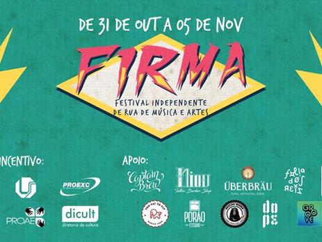 #AGENDA: Festival FIRMA invade a cidade com programação gratuita