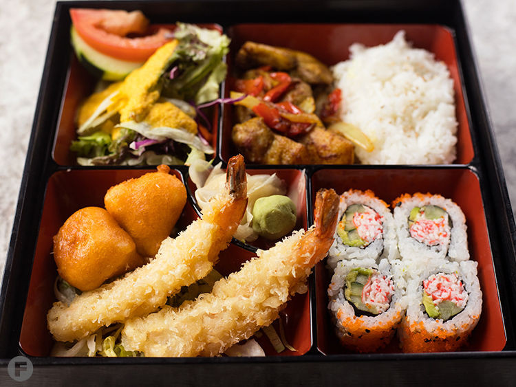 Bento Box on the Lunch Menu!