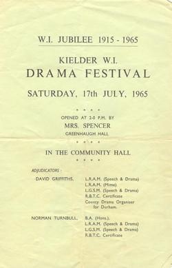 1965 Riding Mill Drama Club, Kielder Fes