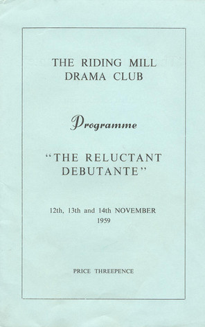 1959 Riding Mill Drama Club, The Relucta
