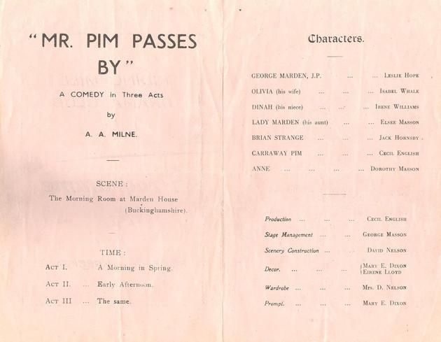 1952 Riding Mill Drama Club, Mr Pim Passes By, April (3).jpg