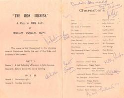 1965 Riding Mill Drama Club, The Iron Du