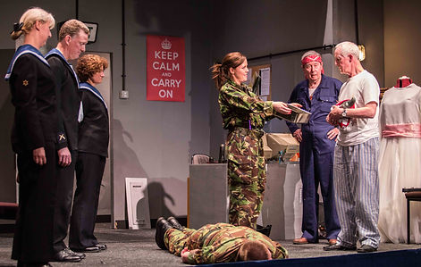 Bunkered Amdram, Play