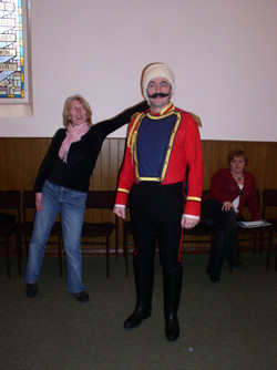 2006 Riding Mill Drama Club, Arms and th