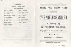 1972,Riding Mill Drama Club, The Nobel S