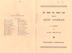 1971, Riding Mill Drama Club, Dear Charl