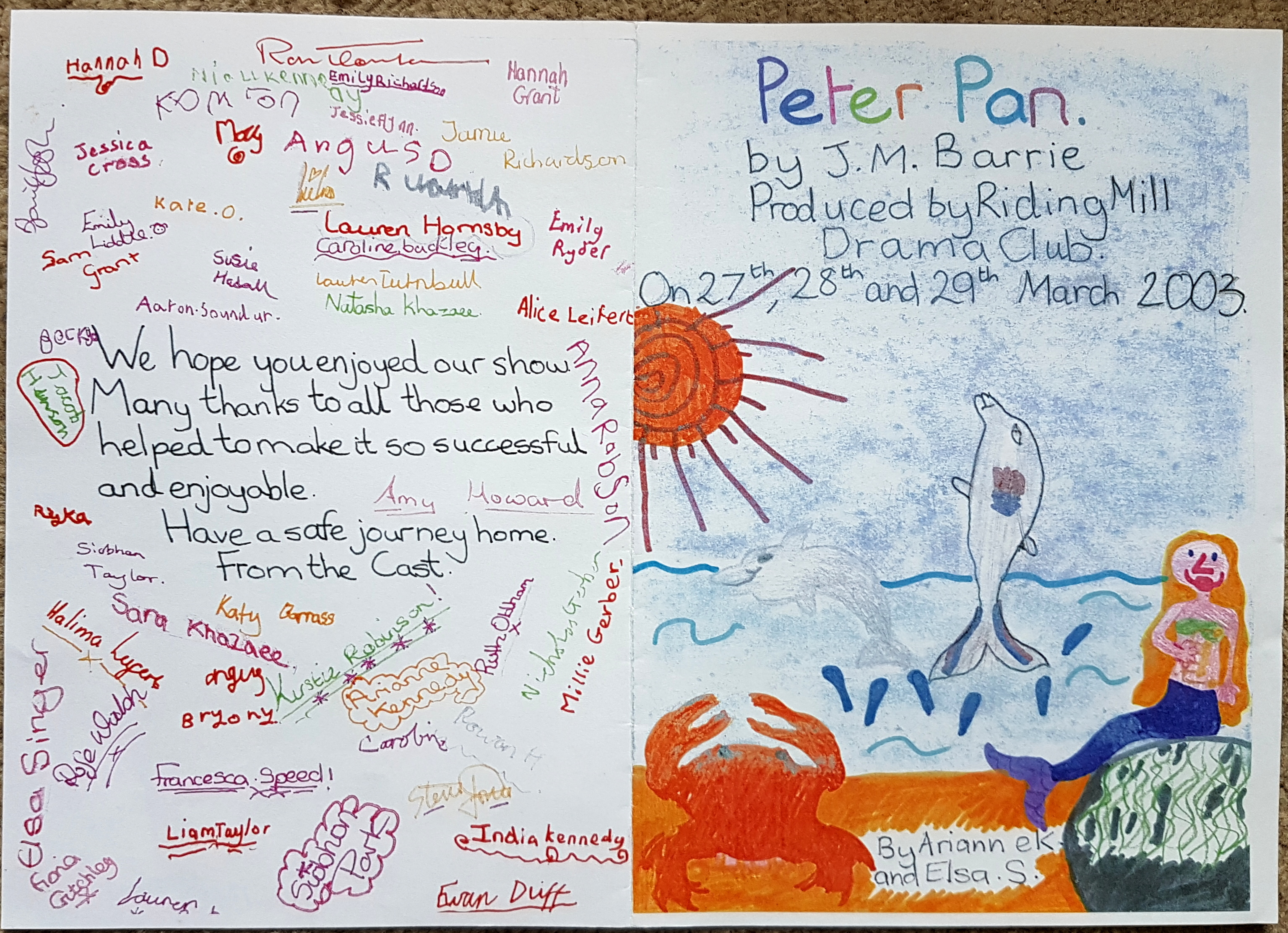 Peter Pan prog 1a