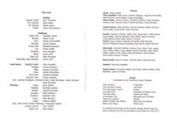 2003 Riding Mill Drama Club, Peter Pan,