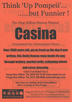 2005, The Ding Millers in Edinburgh,  Ca