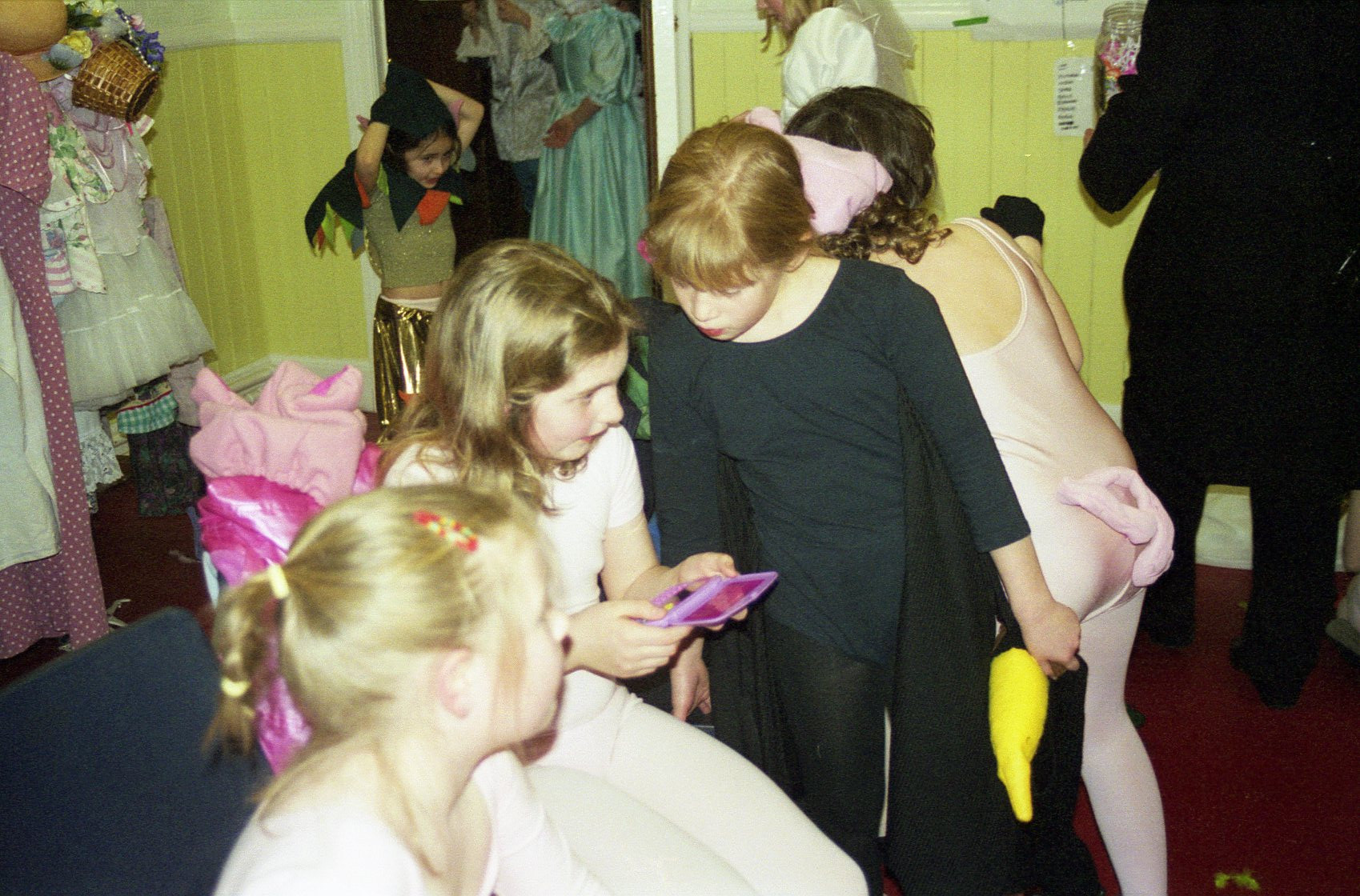 2001 The Princess & The Swinherd behind