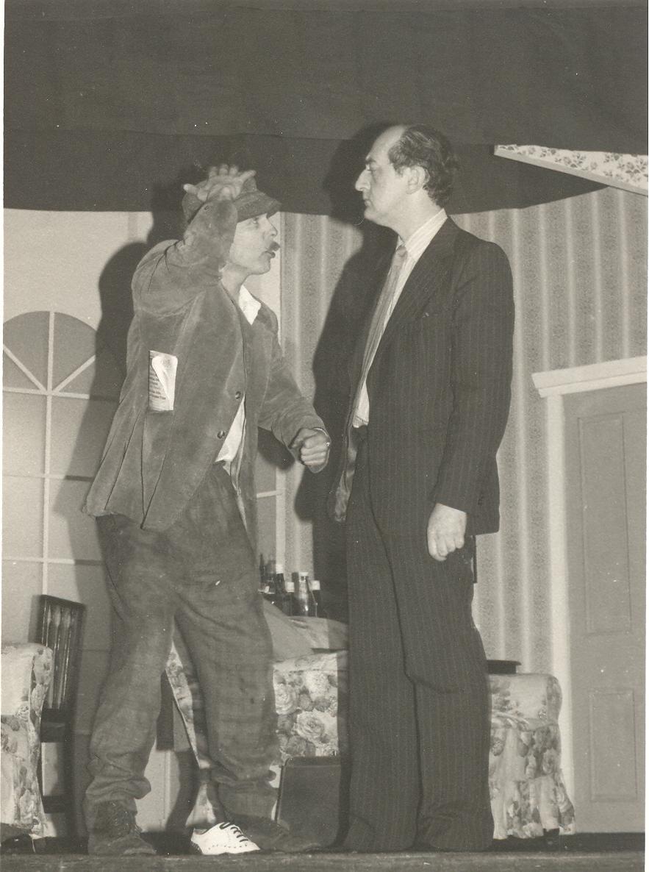 1977 Riding Mill Drama Club, Brush with