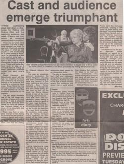 1998 Riding Mill Drama Club, Three One A