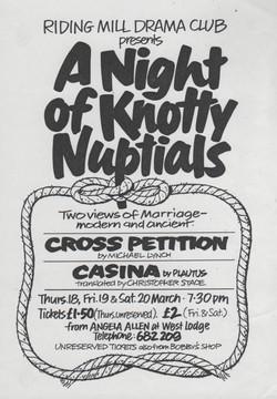 1993, Riding Mill Drama Club, A Night of