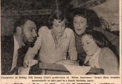 1979, Riding Mill Drama Club, Bitter San