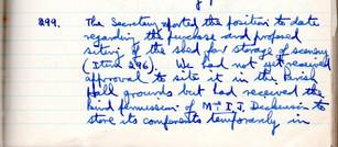 299 shed 12 nov 1962.
