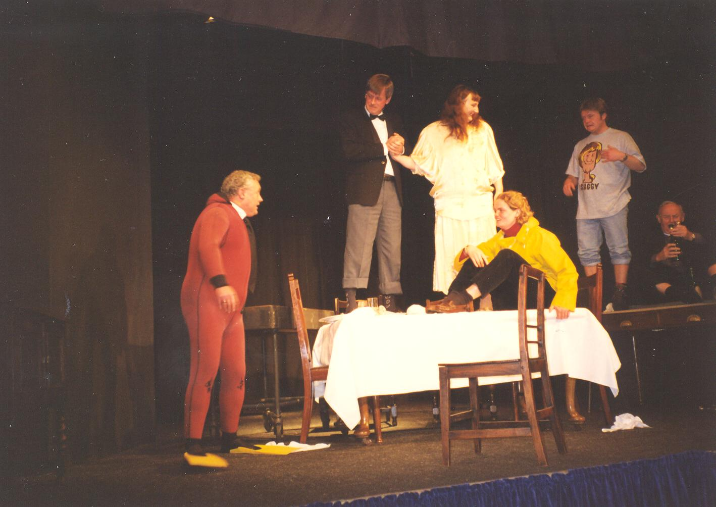 1998 Riding Mill Drama Club,Three One Ac