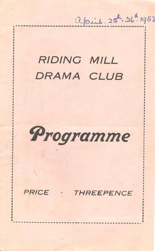 1952 Riding Mill Drama Club, Mr Pim Passes By, April (1).jpg