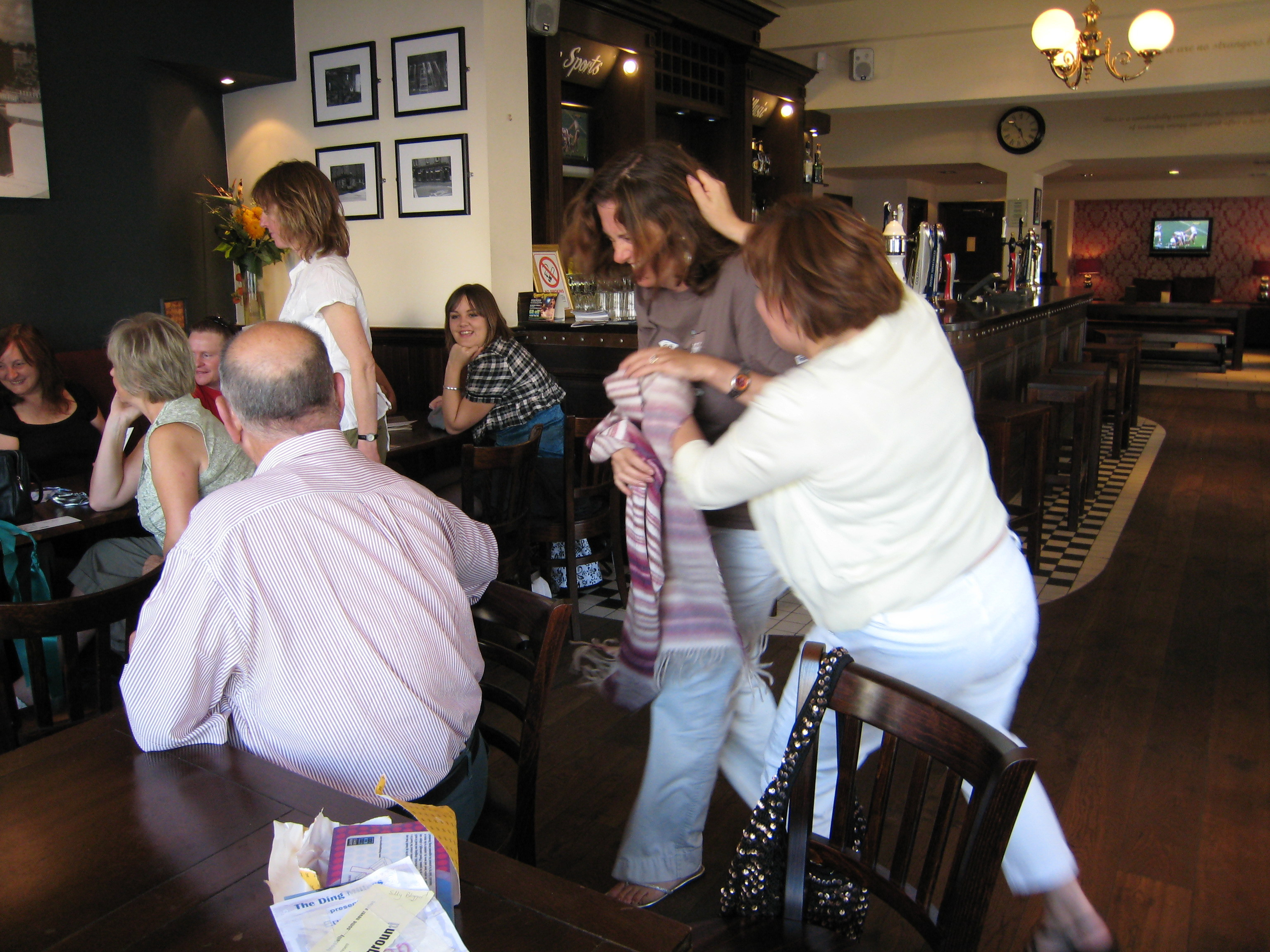 2007 The Ding Millers In Edinburgh Jean
