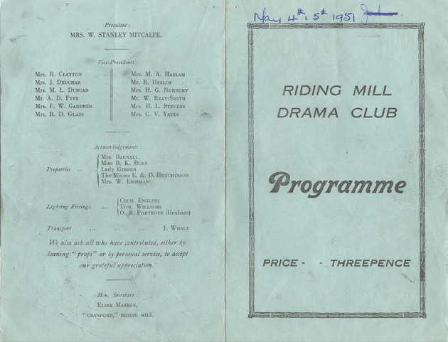 1951 Riding Mill Drama Club, The Haxtons, May (2).jpg