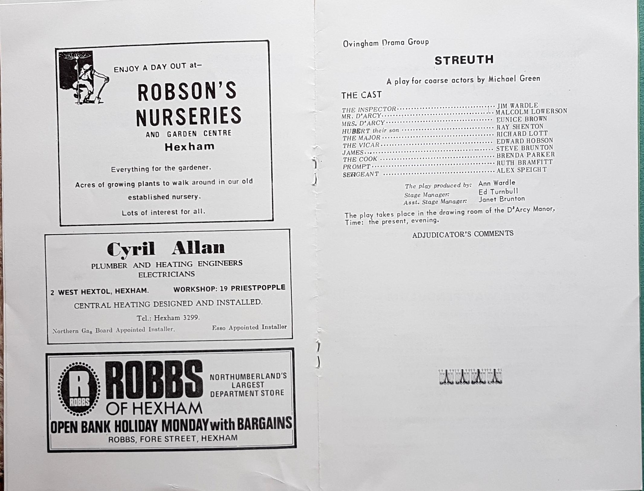 1978 Drama Festival Prog 3